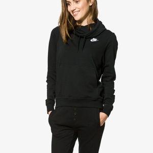 Nike Sportswear Club Funnel-neck Hoodie Sweatshirt